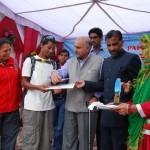 pinku achive certificate.